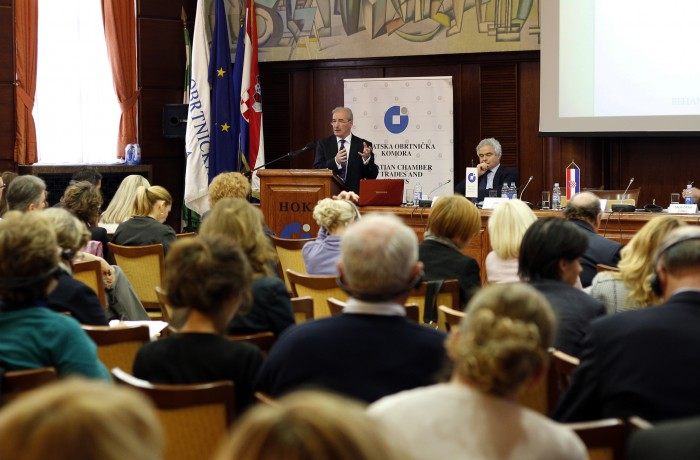 Joe Behan presenting at an International ADR Conference in Zagreb Nov 2015